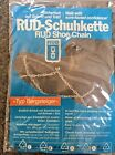 RUD Shoe Chains Size 5 - 9 for Ice & Snow Easy Fit + Self Cleaning
