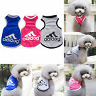 Adidog Fashion Summer Relax Vest Cat Dog Clothes Puppy Apparel Coat T-shirt Hot