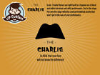 "Fake Mustache Kit - Lip Curtain ""The Charlie"""