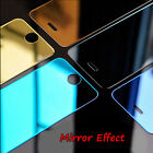 For iPhone 5 6s 7 Plus 3D Mirror Effect Temper Glass Screen Film Protector Guard