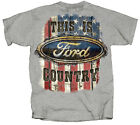 Joe Blow Ford Country American Flag T-Shirt