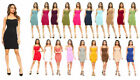 Внешний вид - Women Seamless Long Cami Mini Dress Camisole Tank Top Slip Stretchy One Size