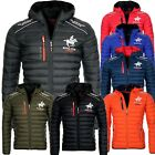Geographical Norway Herren Herbst  Winter Jacke Steppjacke Bomberjacke übergangs