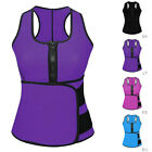 body paets - Women Waist Trainer Vest Gym Workout Slimming Adjustable Sweat Belt Body Shaper