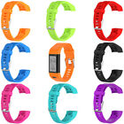 Silicone Replacement Band Strap Wristband For Garmin Vivosmart HR+ Watch W/ Tool