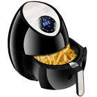 LCD Electric Air Fryer Multifunction Programmable Timer & Temperature Control