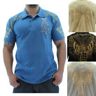 Christian Audigier Grenade Men's Polo Shirt Premium Cotton Size 2XL