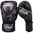 Внешний вид - Venum Impact Hook and Loop Training Boxing Gloves - Dark Camo/Sand