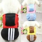 Cute Pet Hoodie Coat Dog Jacket Clothes Puppy Sweater Apparel Hooded Outfit
