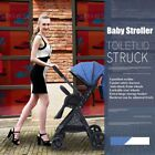 Adjustable Baby Stroller Pushchair Foldable Buggy Lightweight Jogger Travel Car