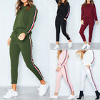 US 2Pcs Girls Tracksuit Hoodies Lady Sweatshirt Pants Sets Casual Sport Suit New