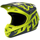 Fox Racing V1 Race MX Helmet Yellow YOUTH Sizes