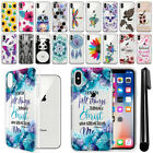 """For Apple iPhone X 5.8"""" Ultra Thin Clear Soft Silicone Gel TPU Case Cover + Pen"""