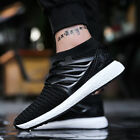 spring summer men's running sports shoes knitting jogging socks shoes Y373