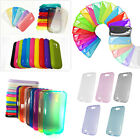 10pcs TPU phone case Random Color For Samsung Galaxy Note2 3 S3 S4 S6 mini