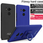 For HTC U11 + Plus IMAK Cowboy Quicksand Hard PC Cover Case Stand Ring Holder