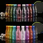 550ml Water Bottle Matte Clear Portable BPA Free Plastic Sports Water B20E 01