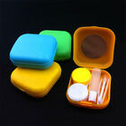 Container Pocket Size Travel Kit Set Mini Mirror Hot Contact Lens Case