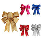 1pcs Pendant Bows Bowknot Christmas Tree Party Gift Present Xmas Home Decor