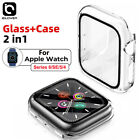 For Apple Watch Series 4 3 2 1 Rugged Armor Protect Cover 44/42mm TPU Bumpe Case