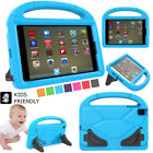 """For iPad 7.9"""" 9.7"""" Kids Child Safe Heavy Duty Handle Shockproof Tough Case Cover"""