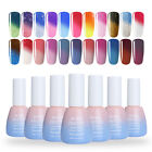 10ml Thermal Soak Off Gel Polish Nail Art Glitter Gel Color Changing Born Pretty