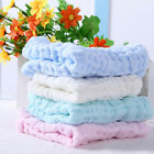 2Pc Baby Infants Soft Cotton Bath Hands Washing Towel Washcloth Cloth Tool 28*28