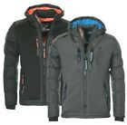 Geographical Norway warme Herren Winter jacke Steppjacke Parka SKI Outdoor NEU