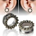 New Women Fashion Jewelry Charm Stainless Steel Skull Auricle Ear B20E