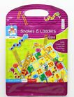 Kids Create Magnetic Travel Board Games Snakes & Ladders Ludo Draughts Hangman