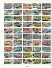 USA MNH 50 STATES SHEET WITH NAMES ETC POST OFFICE FRESH
