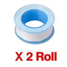 PTFE Tape 12mm x 12m Plumbing Plumbers Water Tight Pipe Fitting Thread Seal Tape