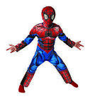 Ultimate Spider Man Deluxe Costume for Children Childrens Fancy Dress Original