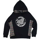 Santa Cruz Cali Trip POP Pullover Hooded Sweatshirt Juniors Black