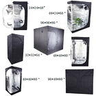 New Hydroponics Planting Mylar Grow Tent Indoor Garden Plant Growing Tent 8 Size