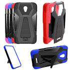 Phone Case for AT&T PREPAID Alcatel ideal-Xcite idealXcite Cover Wide-Stand