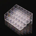 Clear Acrylic 24 Lipstick Holder Display Stand Cosmetic Organizer Makeup Case MI
