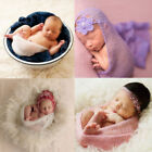 Photography Photo Prop Blanket Rug  Stretch Wrap Infant Baby Newborn Girls O0334