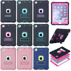 Shockproof Heavy Duty Hard Rubber Case Stand Cover For Ipad Mini /air 2/ Pro 9.7
