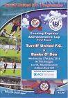 Turriff United Home programmes 2016/2017 season