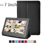 Folio Stand Faux Leather Flip Protection 7Inch Tablet Case for Android Tablt Q88