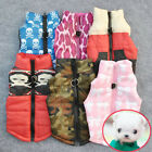 Winter Pet Cat Dog Padded Vest Cool Shirt Harness Puppy Warm Coat Jacket Apparel