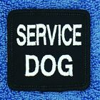 """Service Dog Patch For Small Vest  2X2"""" Assistance Medical Disabled Danny & LuAnn"""