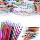 12 Colors Gel Pens Coloring Sketch Drawing Painting Markers Refills Stationery