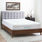 Lucid 3 inch Down Alternative Feather Bed Mattress Topper - Out of Package OOP image