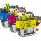3x Compatible [Super High Yield] LC3019 (C,M,Y) Color Ink Cartridges for Brother