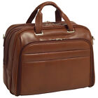 "McKlein USA R Series Springfield 15.6"" Leather Laptop Non-Wheeled Business Case"