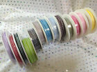 Tiny Gingham Ribbon chequered any occasion - 13 Shades - 5mm x 25metre full reel