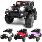 12V Kids Ride on Truck Electric Car Battery Power Wheels Remote Control 3 Speed