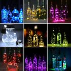 Led Solar Wine Bottle Cork Shape String Light 20 LED Night Fairy Light Lamp 1.5M